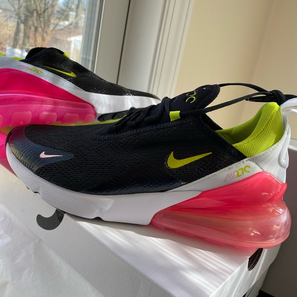 New W Box Nike Air Max 27 Cyber Pink